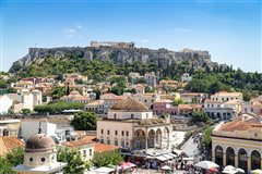 Vienna - Athens (with return) from 43.77€