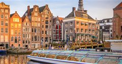 Vienna - Amsterdam (one way) from 59.33€