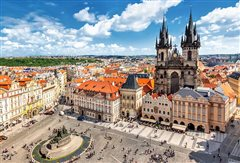 Barcelona-El Prat - Prague (with return) from 19.90€