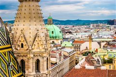London Stansted - Vienna (with return) from £43.93