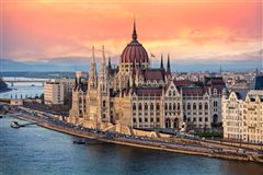 London Stansted - Budapest (with return) from £74.29