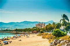 Barcelona-El Prat - Palma (with return) from 37.52€