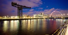 Brussel Charleroi - Glasgow (with return) from 37.76€