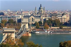 London Stansted - Budapest (with return) from £26.61