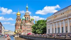 Salzburg - St Petersburg (with return) from 69.98€