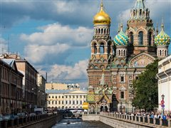London Luton - St. Petersburg (with return) from 17.98€