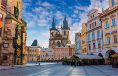 Paris (France) - Prague (Czech Rep) from 65€