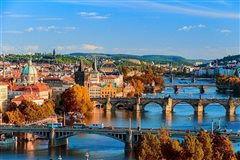 London Stansted - Prague (with return) from £53.81